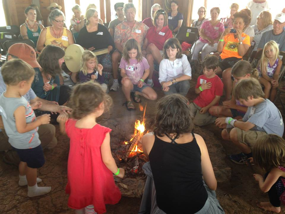 a picture of asheville sacred fire community